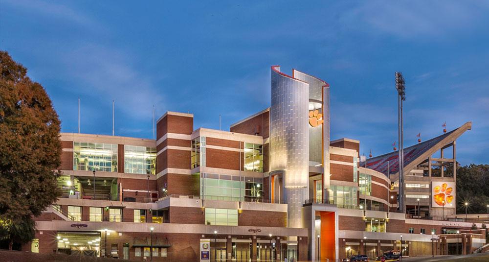 Clemson University Memorial Stadium Upgrades Pope